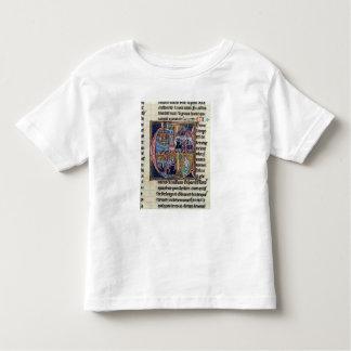 Historiated initial 'C' depicting Conrad III T-shirt