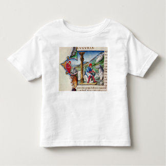 Historiated initial 'L' Toddler T-shirt
