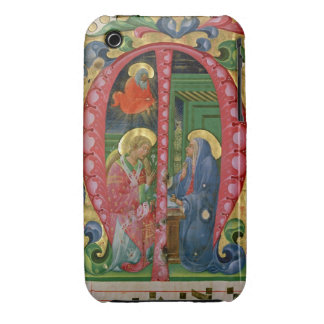Historiated initial M depicting The Annunciation Case-Mate iPhone 3 Cases