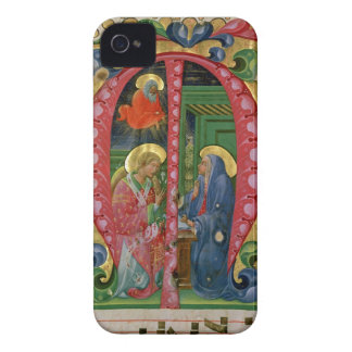 Historiated initial 'M' depicting The Annunciation iPhone 4 Case