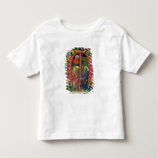 Historiated initial 'M' depicting The Annunciation Toddler T-shirt