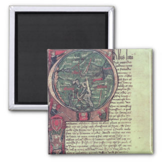 Historiated initial magnet