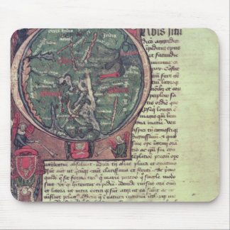Historiated initial mouse pad