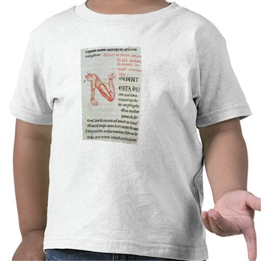 Historiated initial 'N' T-shirts