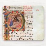 Historiated initial 'P' depicting the Nativity Mouse Pad