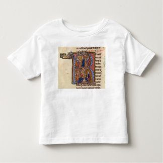 Historiated initial 'R' depicting the Sultan Tee Shirts