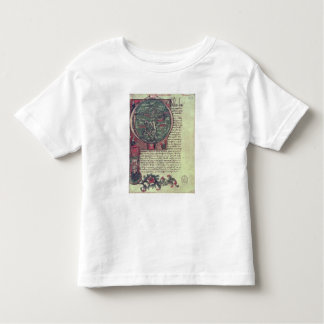Historiated initial toddler t-shirt