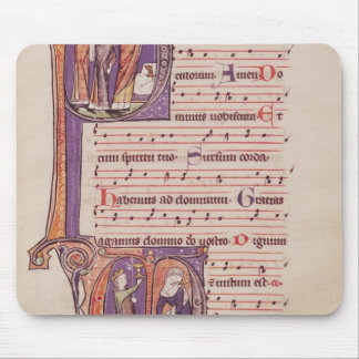 Historiated initials 'P' Mouse Pad