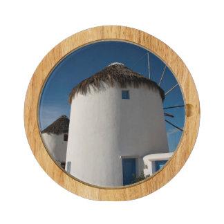Historic 16th century Cycladic style windmills Cheese Platter