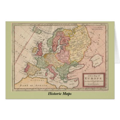 Map Of Europe 400