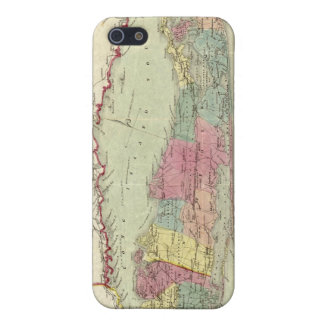 Historic 1855-1857 Travellers Map of Long Island Case For iPhone SE/5/5s