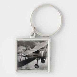 Historic Aircraft Keychain - Gloster Gladiator
