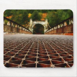 Historic Alexandra Bridge - Fraser Canyon Mouse Pad