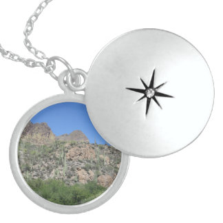 Historic Apache Trail Sterling Silver Necklace