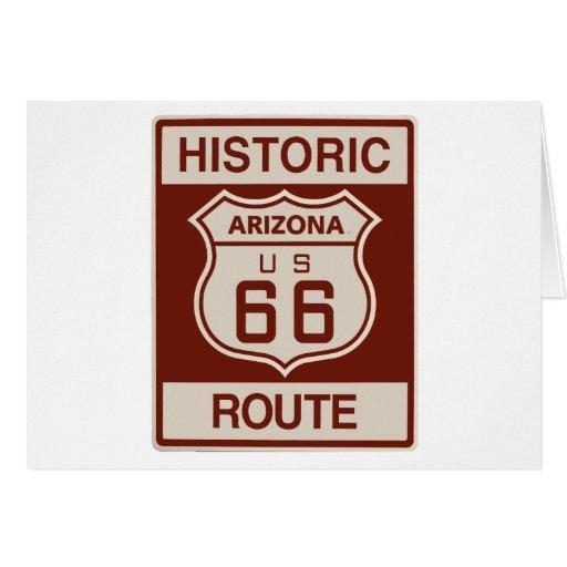 Historic Arizona RT 66 Greeting Card