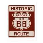 Historic Arizona RT 66 Postcards