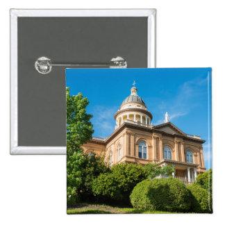 Historic Auburn California Courthouse Pinback Button