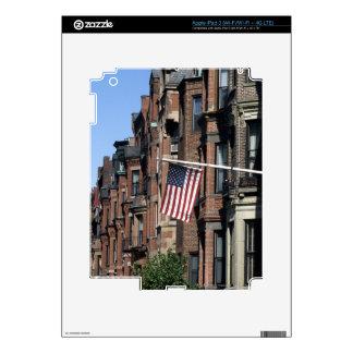 Historic back Bay Area, Boston, Massachusetts Decals For iPad 3