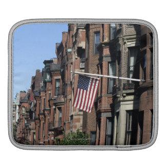 Historic back Bay Area, Boston, Massachusetts iPad Sleeve