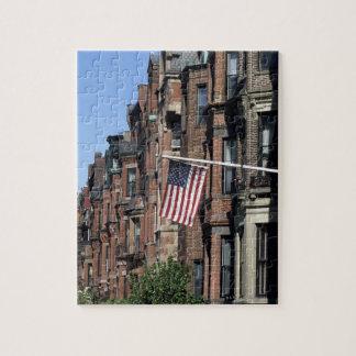 Historic back Bay Area, Boston, Massachusetts Jigsaw Puzzle