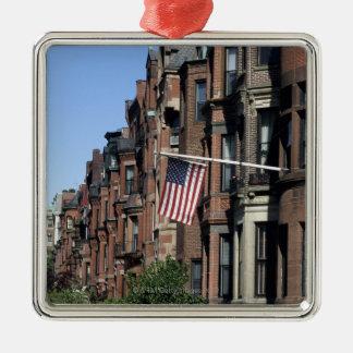 Historic back Bay Area, Boston, Massachusetts Metal Ornament