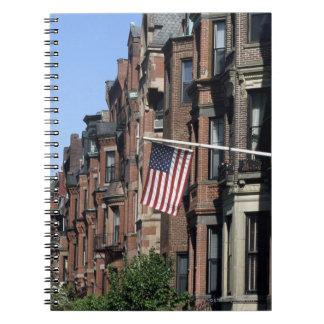 Historic back Bay Area, Boston, Massachusetts Notebook