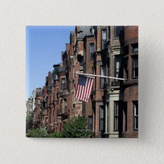 Historic back Bay Area, Boston, Massachusetts Pinback Button