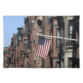 Historic back Bay Area, Boston, Massachusetts Cloth Place Mat