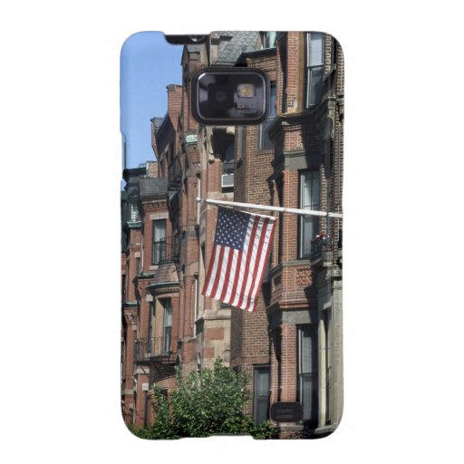 Historic back Bay Area, Boston, Massachusetts Samsung Galaxy SII Covers