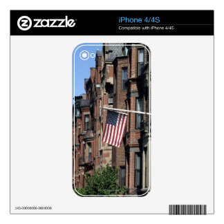 Historic back Bay Area, Boston, Massachusetts Decals For The iPhone 4S