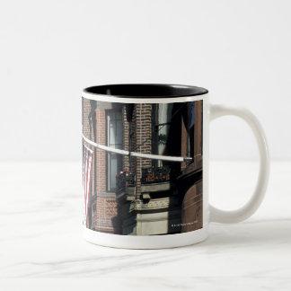 Historic back Bay Area, Boston, Massachusetts Two-Tone Coffee Mug