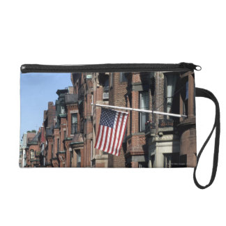 Historic back Bay Area, Boston, Massachusetts Wristlet Purse