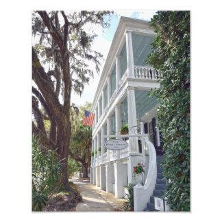 Historic Beaufort, South Carolina, Inn 11x14 Photo Print