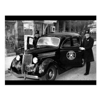 Historic Boise Police Photo Postcard