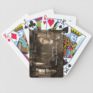 Historic Bonaventure Cemetery Bicycle Playing Cards
