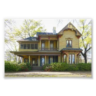 Historic Bonner-Whitaker-McClendon House, Tyler Photo Print