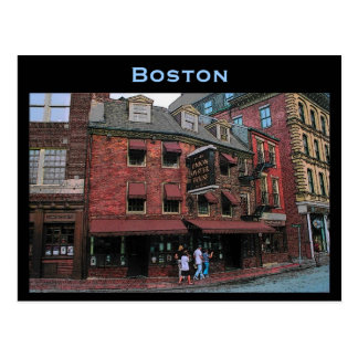 Historic Boston Postcard