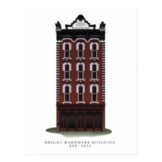 Historic Briggs Hardware Building Postcards
