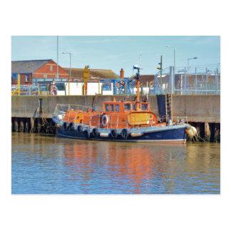 Historic British Lifeboat Postcard
