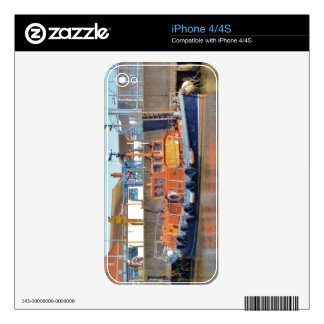 Historic British Lifeboat Skins For iPhone 4S