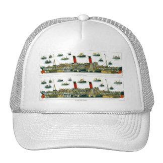 Historic British Ocean Liner Bookmark Mesh Hat