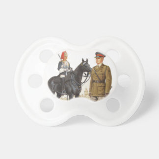 Historic British Uniforms, Blues and Royals Pacifier