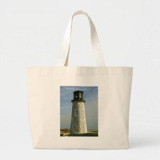 Historic Buckroe Beach Lighthouse Tote Bag