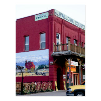 Historic building on Main Street, Joseph, Oregon Postcard
