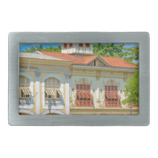Historic Buildings, Guayaquil, Ecuador Rectangular Belt Buckle