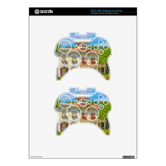 Historic Buildings, Guayaquil, Ecuador Xbox 360 Controller Decal