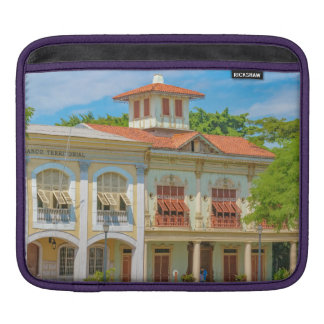 Historic Buildings, Parque Historico, Guayaquil Sleeve For iPads