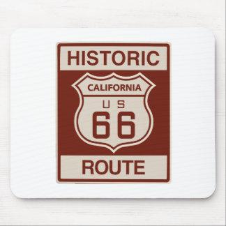 Historic California RT 66 Mouse Pad