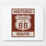 Historic California RT 66 Mousepad