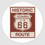 Historic California RT 66 Stickers